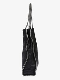 STELLA MCCARTNEY - Faux leather Falabella Large bag