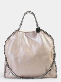 STELLA MCCARTNEY - Falabella Triple Chain faux leather bag