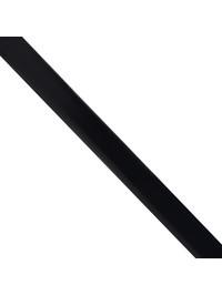 DELL'OGLIO - Blue brushed leather belt