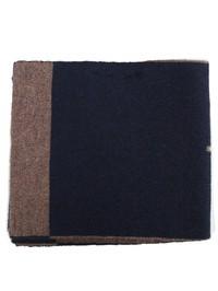 DELL'OGLIO - Black and grey cashmere neck-cozy