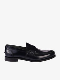 CHURCH'S - Tunbridge blue smoked leather loafers