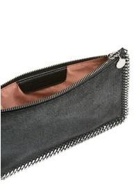 STELLA MCCARTNEY - Faux leather Falabella clutch