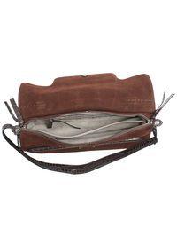 ZANELLATO - Brown nabuck leather Medium Nina bag