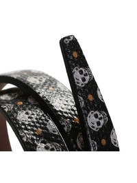 ALEXANDER MCQUEEN - Leather studded bracelet