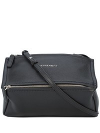 GIVENCHY - Black grain leather Mini Pandora bag