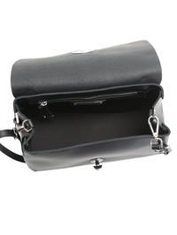ZANELLATO - Black Postina M Original Silk leather bag