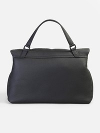 ZANELLATO - Postina M Cachemire Pura grained leather bag