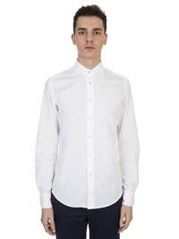 DELL'OGLIO - White cotton shirt