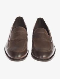 DELL'OGLIO - Leather moccasin