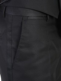 DOLCE & GABBANA - Virgin wool and silk three pieces Martini Tuxedo suit