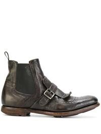 CHURCH'S - Shanghai Vintage leather boots