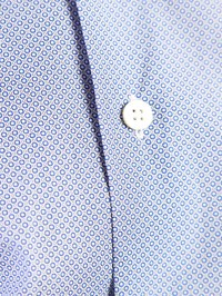DELL'OGLIO - Micro-pattern cotton shirt
