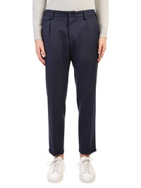 PT01 - Virgin wool herringbone trousers