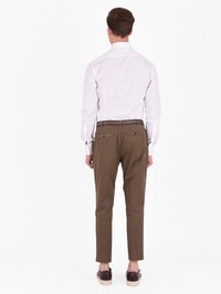 DELL'OGLIO - Cotton trousers