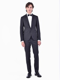 DSQUARED2 - Virgin wool and silk tuxedo suit