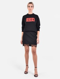 DSQUARED2 - Cady lace trimmed skirt