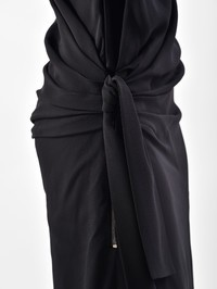 TOM FORD - Side tie viscose dress