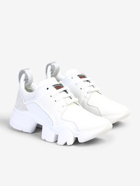 GIVENCHY - Jaw leather and nylon sneakers