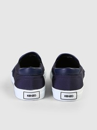 KENZO - Embroidered canvas espadrilles