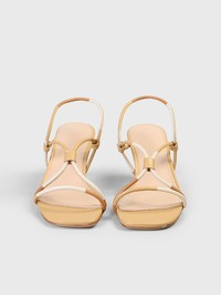 JACQUEMUS - Embellished leather sandals