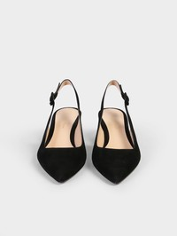 GIANVITO ROSSI - Suede leather shoes