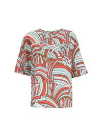 LA DOUBLE J - Printed cotton blouse