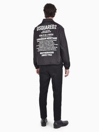 DSQUARED2 - Printed nylon jacket