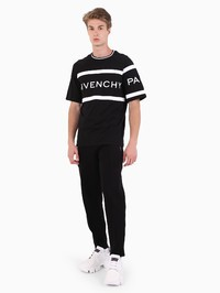 GIVENCHY - Logo embroidery cotton T-shirt