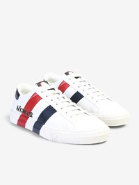 MONCLER - Montpellier leather sneakers