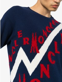 MONCLER - Virgin wool and cashmere sweater