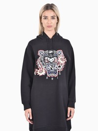 KENZO - Embroidered cotton dress
