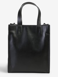 KENZO - Logo patch tote leather bag