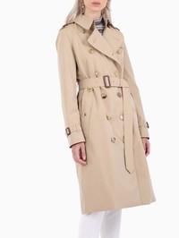 BURBERRY - Kensington cotton trench coat
