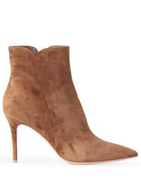 GIANVITO ROSSI - Suede leather ankle boots