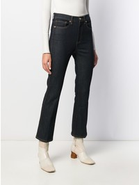 TORY BURCH - Cropped denim jeans