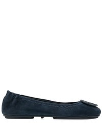 TORY BURCH - Suede leather ballerina flats