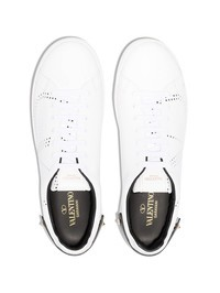 VALENTINO GARAVANI - Leather sneakers