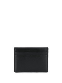 VALENTINO GARAVANI - Logo print leather card holder