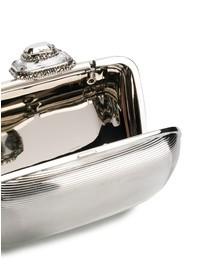 ALEXANDER MCQUEEN - Mini brass clutch
