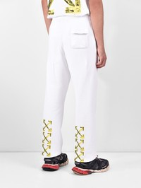 OFF-WHITE - Cotton trousers