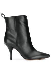 L'AUTRE CHOSE - Leather ankle boots