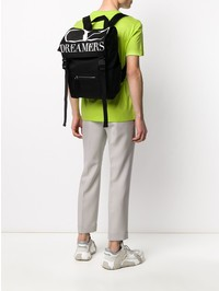 VALENTINO GARAVANI - Printed nylon backpack