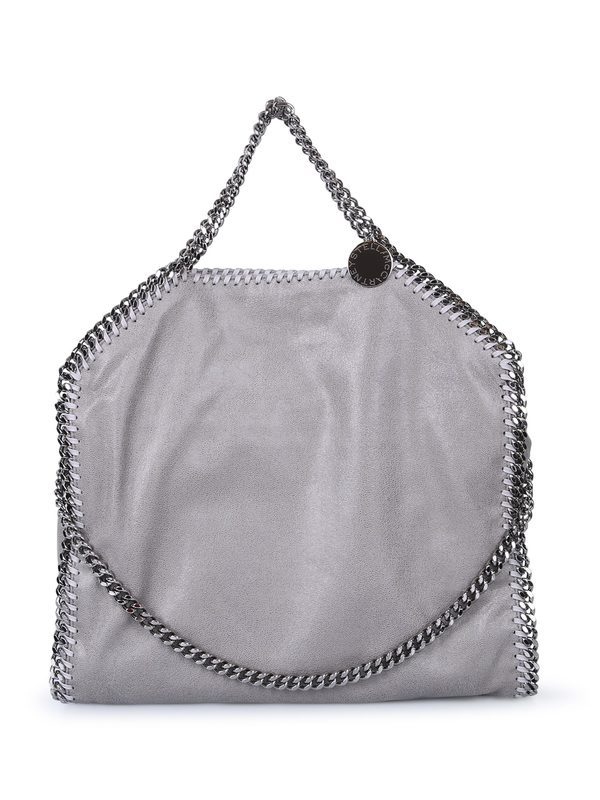STELLA MCCARTNEY - Faux leather Falabella Small tote