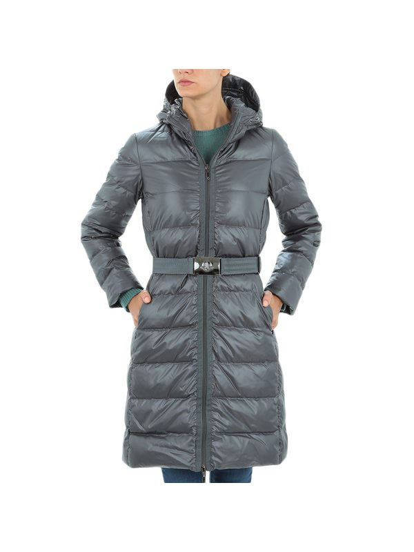 MONCLER - Grey NANTES down jacket