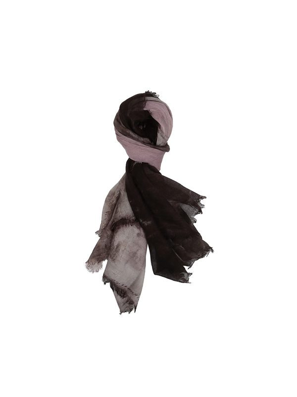 RICHIAMI - Marte hand painted cashmere and silk stole