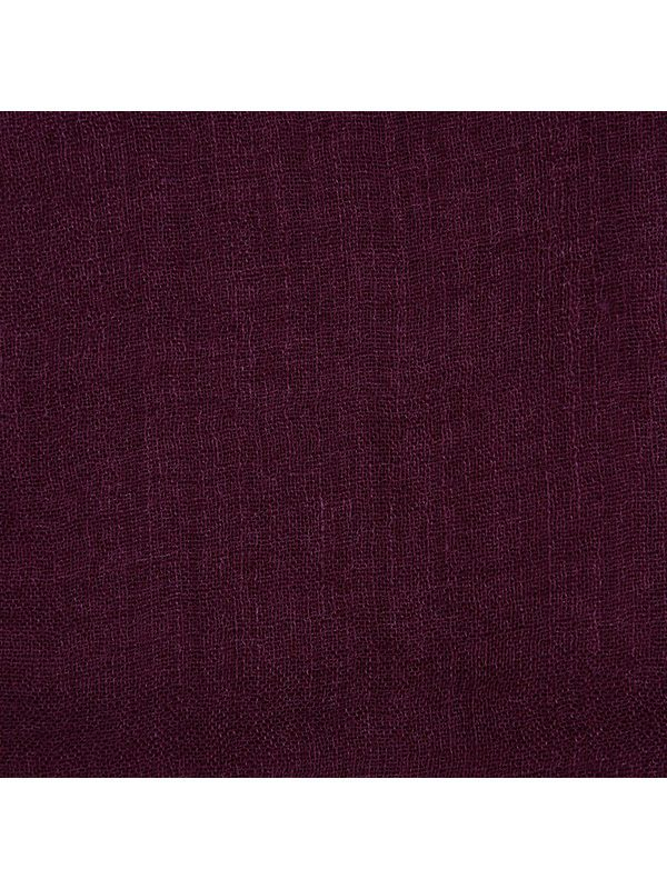 RICHIAMI - Acero burgundy cashmere and silk scarf
