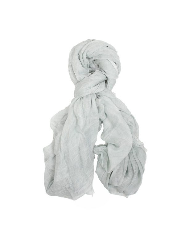 FALIERO SARTI - Flosy water green modal and wool scarf