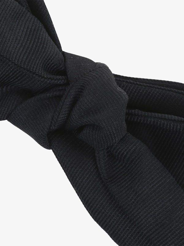 DELL'OGLIO - Silk bow tie