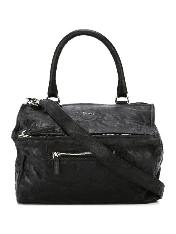 GIVENCHY - Medium Pandora aged leather bag