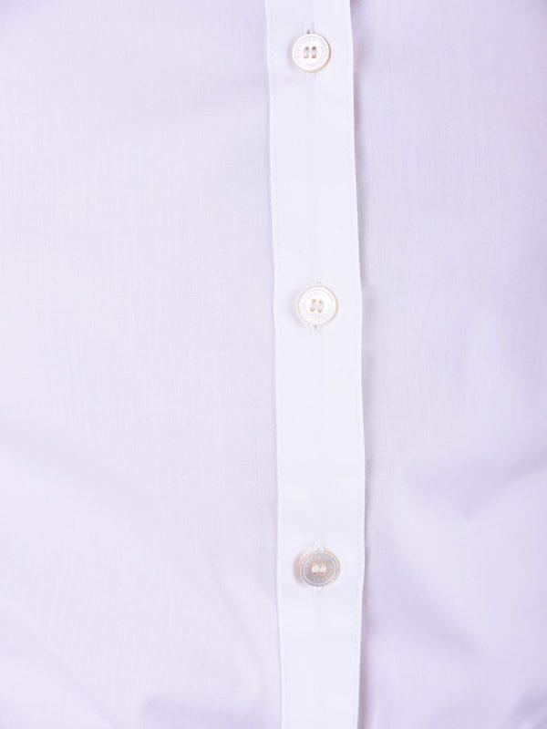 BURBERRY - White cotton shirt